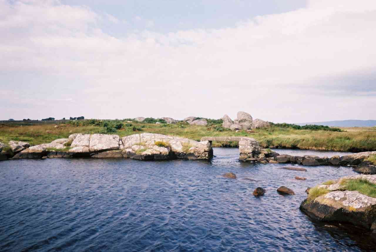 Ancient bridge at Connemara